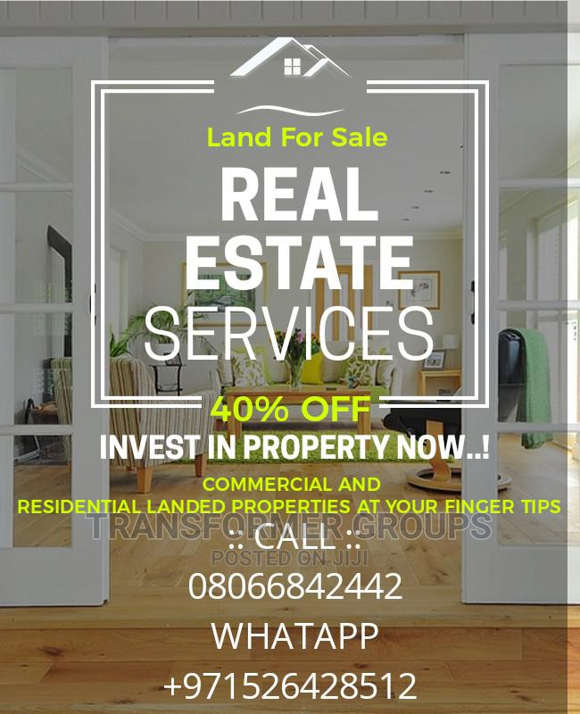 Table Flat Half Plot for Sale Badagry Lagos State