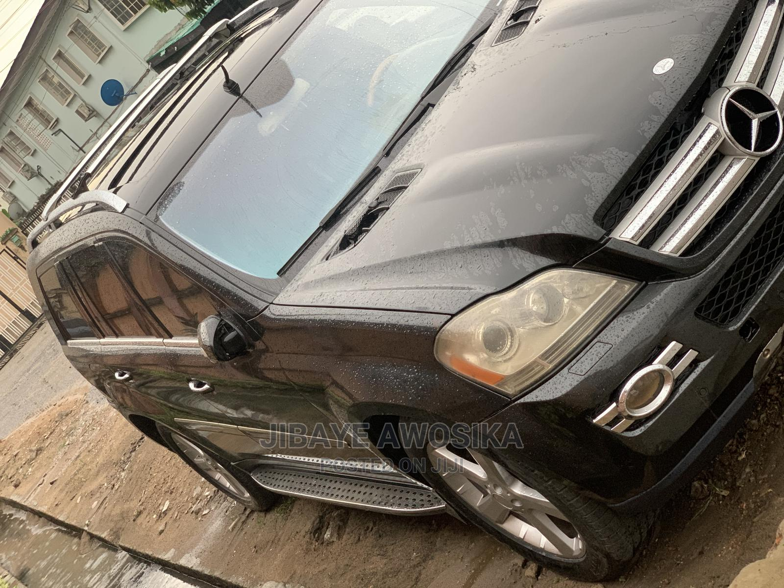 Mercedes-Benz GL Class 2009 GL 450 Gray   Cars for sale in Surulere, Lagos State, Nigeria
