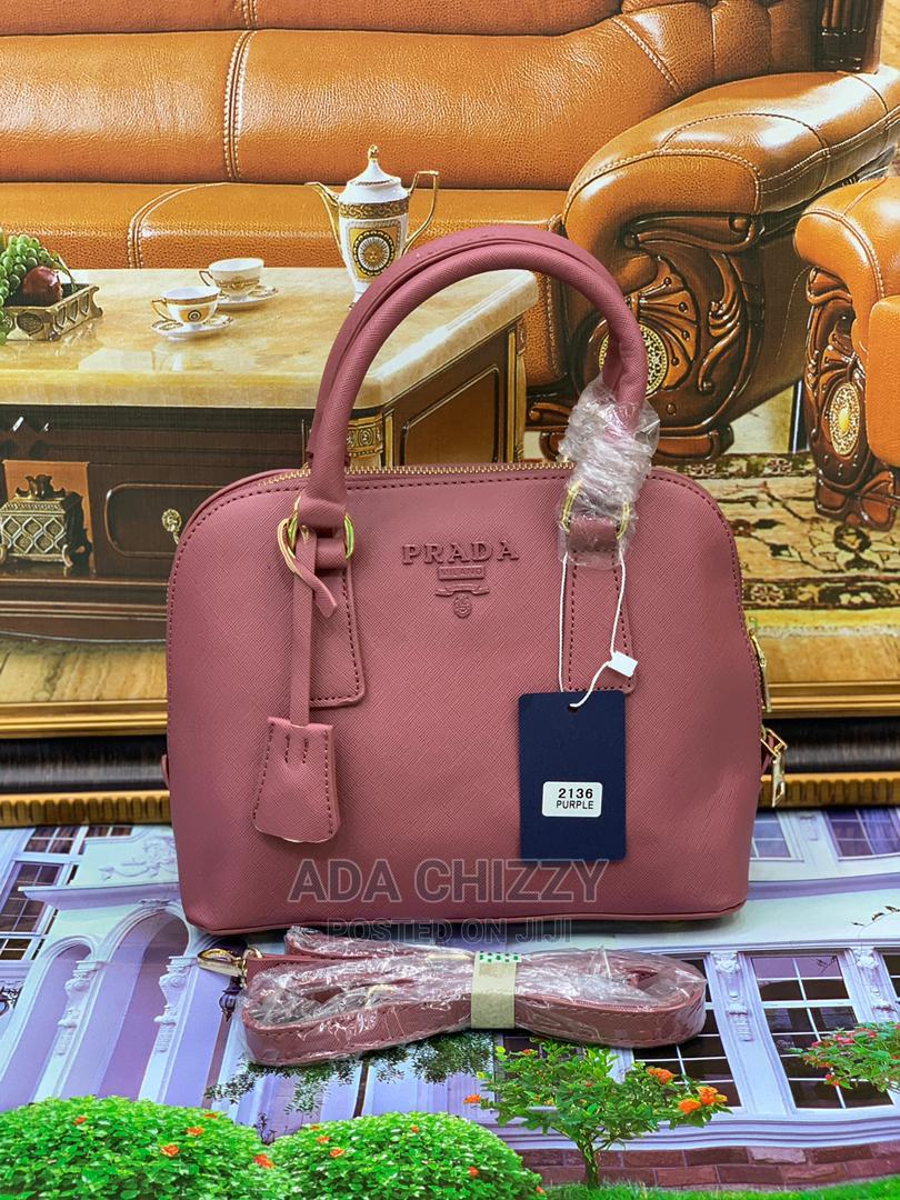 New Quality Prada Leather Pink Bags