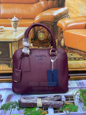 New Quality Turkey Prada Purple Handbag | Bags for sale in Lagos State, Ikeja