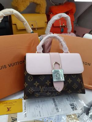 New Pink Leather Handbag | Bags for sale in Lagos State, Ikeja