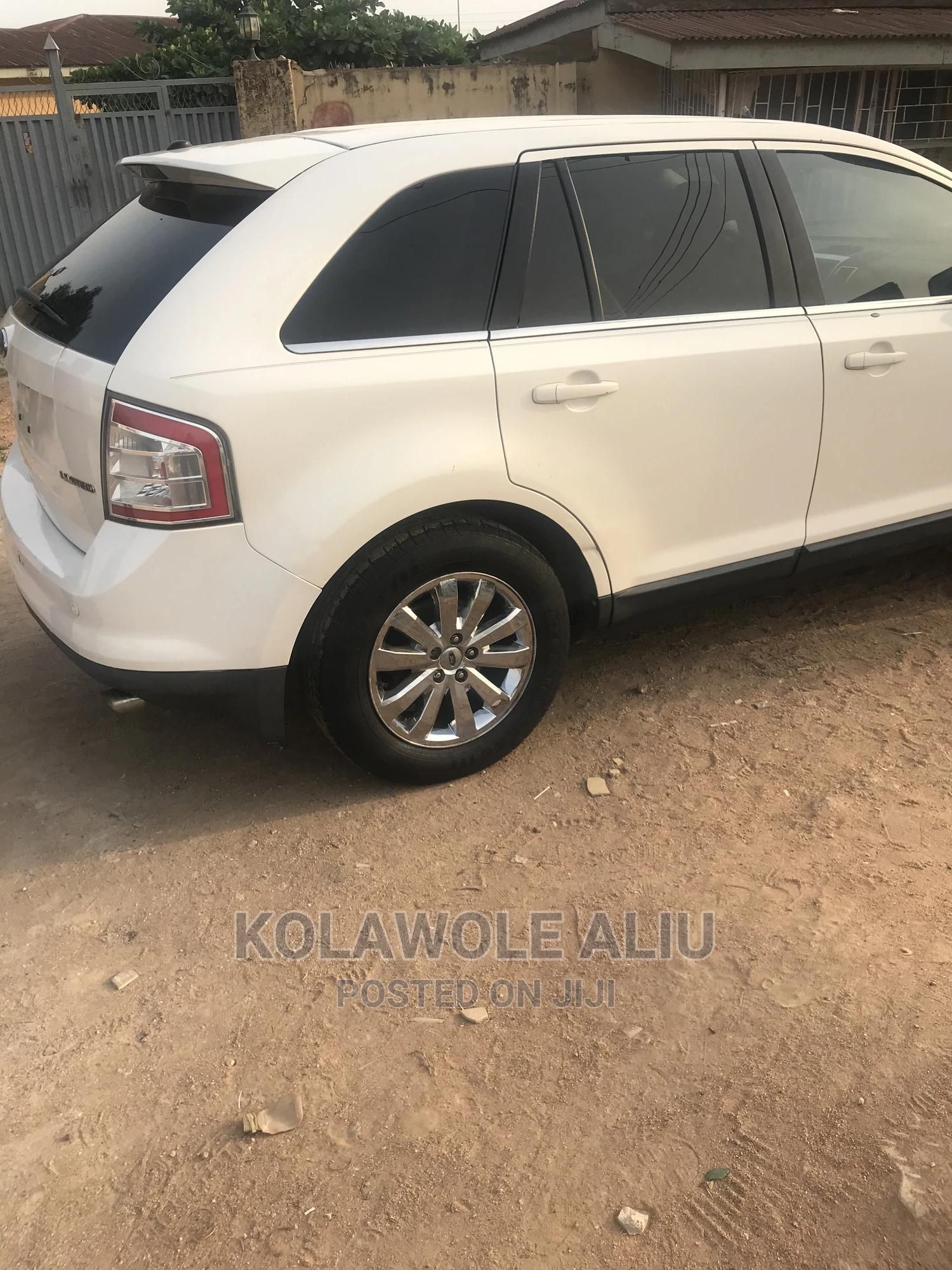 Ford Edge 2007 SE 4dr FWD (3.5L 6cyl 6A) White | Cars for sale in Oluyole, Oyo State, Nigeria