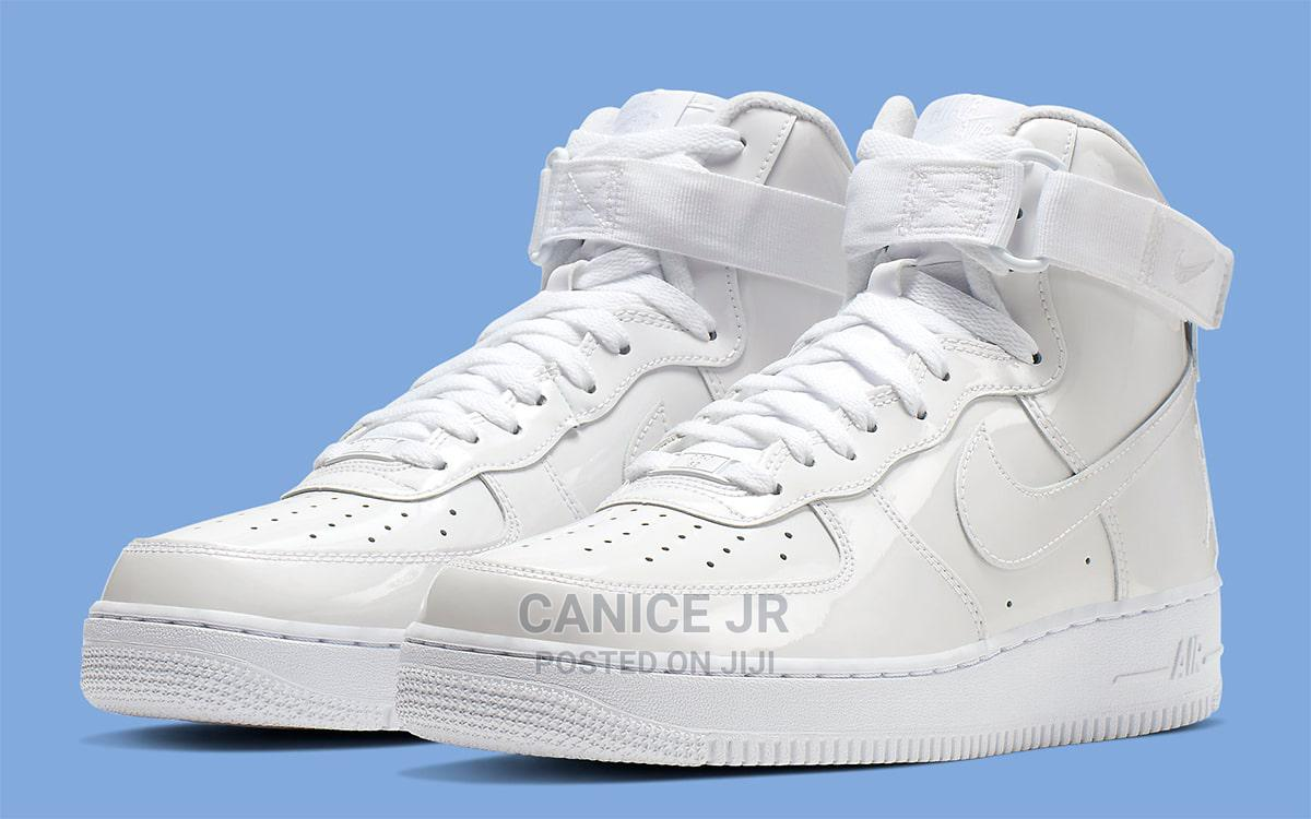 Nike Air Force 1 White Gs | Shoes for sale in Gwarinpa, Abuja (FCT) State, Nigeria