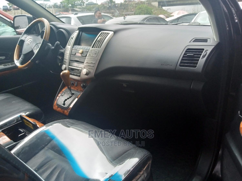 Lexus RX 2009 350 4x4 Black | Cars for sale in Apapa, Lagos State, Nigeria