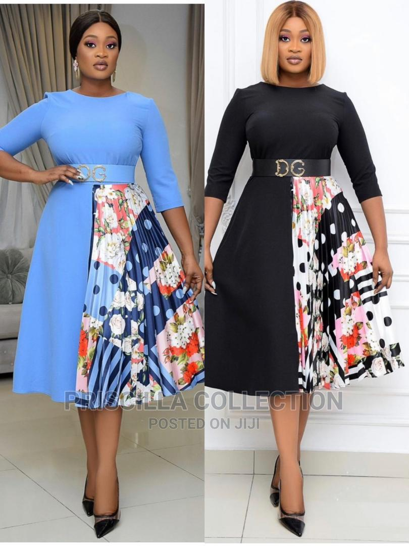 New Quality Trendy Gown for Corporate Ladies