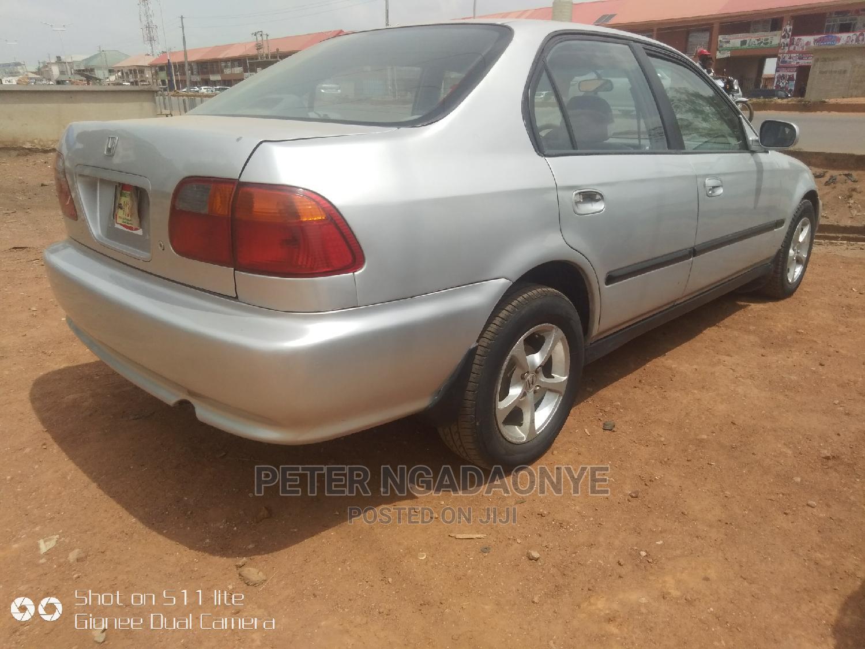 Honda Civic 2000 EX 4dr Sedan Gray | Cars for sale in Kaduna / Kaduna State, Kaduna State, Nigeria