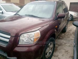 Honda Pilot 2007 EX 4x4 (3.5L 6cyl 5A) Brown | Cars for sale in Lagos State, Abule Egba