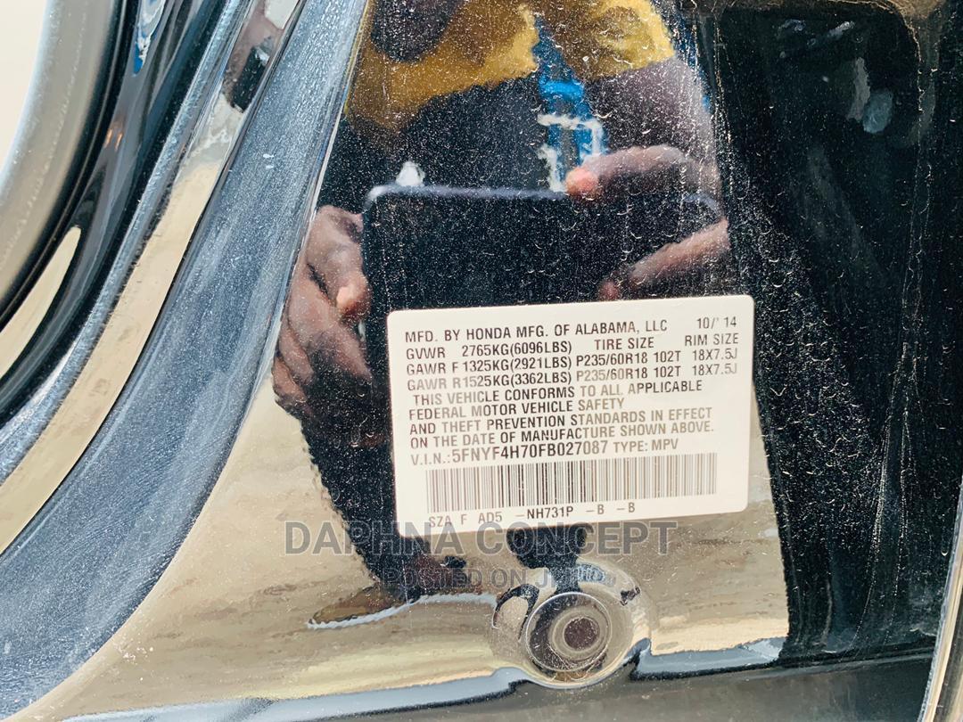 Archive: Honda Pilot 2015 Black