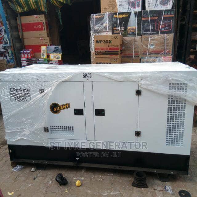 70kva Perkins DIESEL Soundproof Generator 100%Coppa