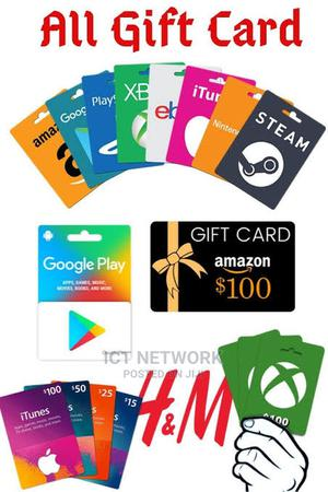 All Types Of Gift Card Available At Discounted Price   Accessories & Supplies for Electronics for sale in Abuja (FCT) State, Wuse 2