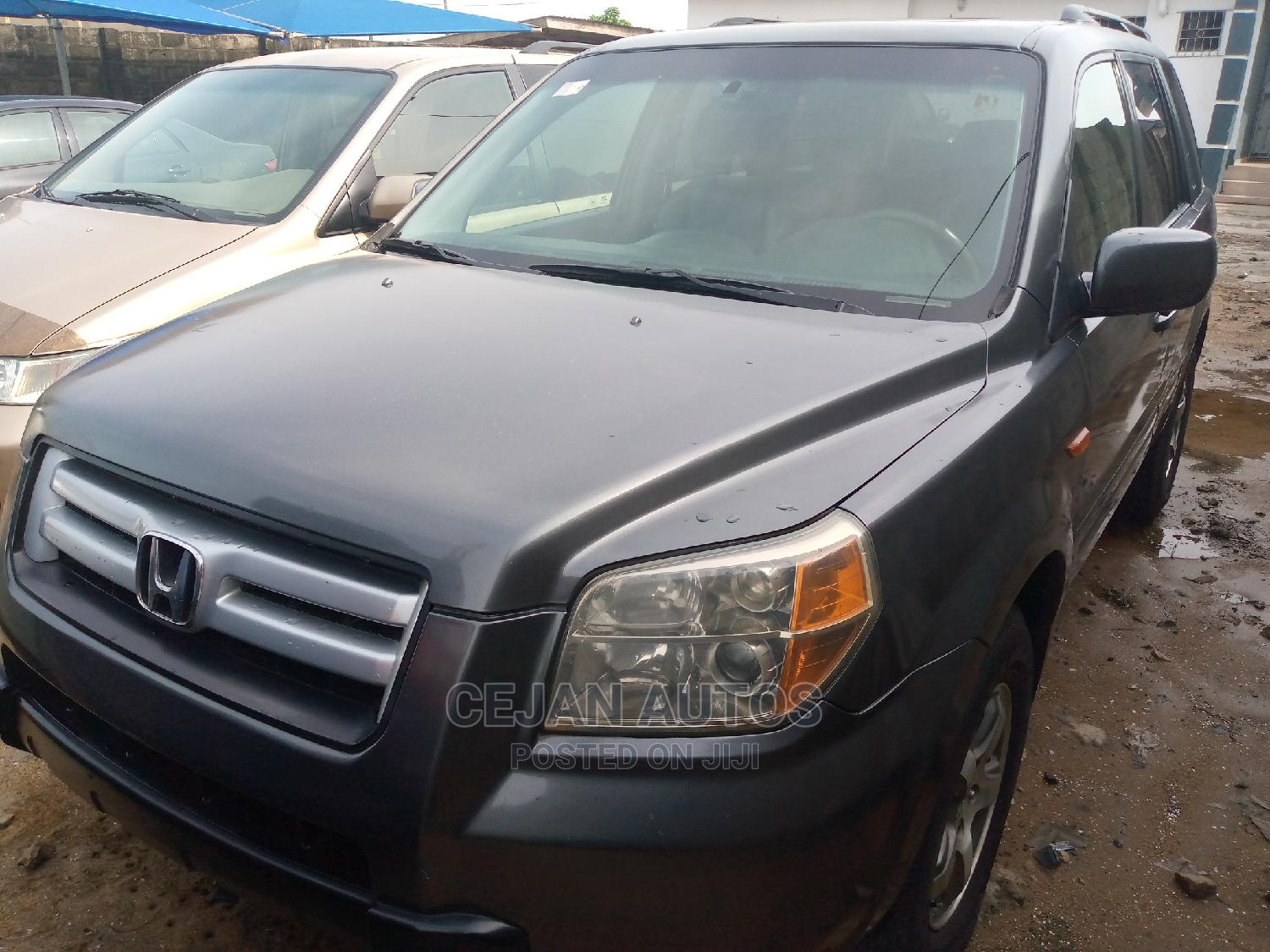 Honda Pilot 2006 EX 4x4 (3.5L 6cyl 5A) Gray   Cars for sale in Isolo, Lagos State, Nigeria