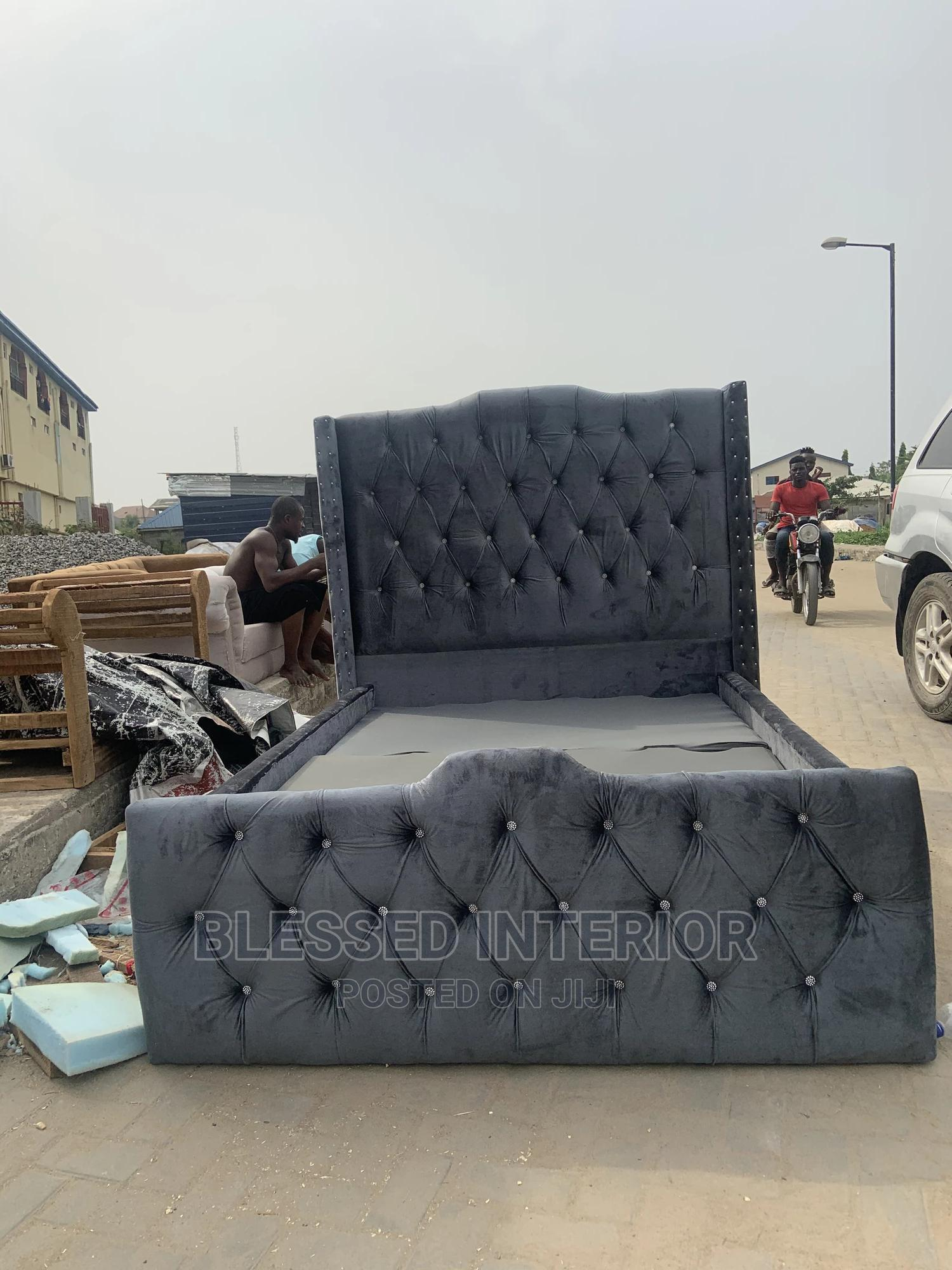 Archive: 4/By 6 Upholstery Bed Frame