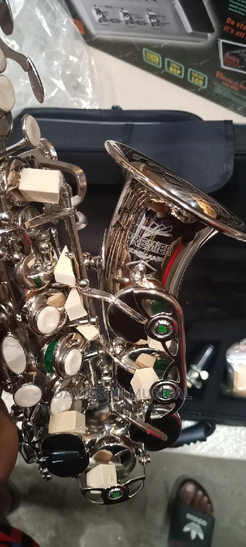 Premier Silver Soprano Saxophone   Musical Instruments & Gear for sale in Ojo, Lagos State, Nigeria