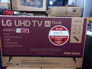 LG 43 Inches TV Smart Uhd Model Un7340pvc Series,4K | TV & DVD Equipment for sale in Lagos State, Ifako-Ijaiye