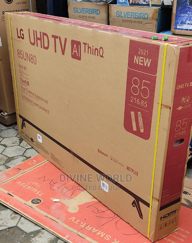 "2021made>LG UHG TV 85""Smart Bluetooth Netflix App Gold Flame"