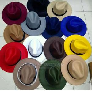 Unisex Fedora Hat   Clothing Accessories for sale in Lagos State, Surulere