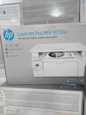 Hp Laserjet Pro MFP M130A Printer (Print Scan Copy) | Printers & Scanners for sale in Lagos State, Ikeja
