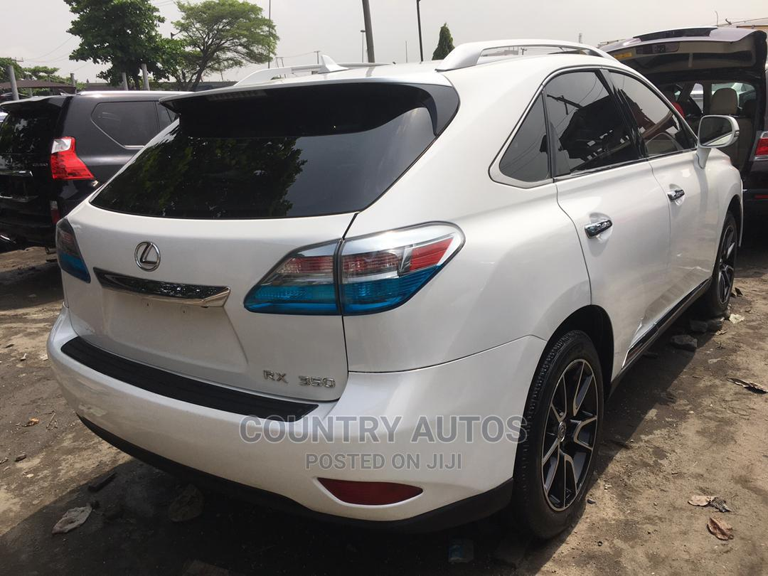 Lexus RX 2011 350 White | Cars for sale in Apapa, Lagos State, Nigeria