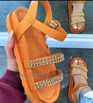 Quality Gold Women Sandal   Shoes for sale in Lagos State, Lagos Island (Eko)