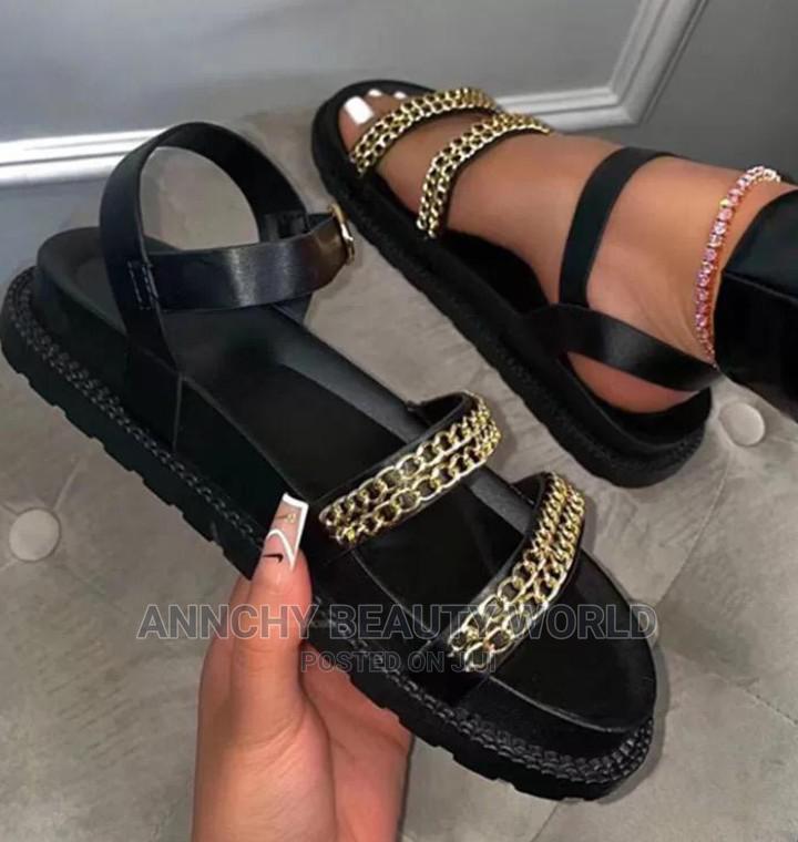 Quality Black Sandal