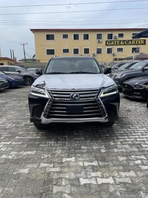 Lexus LX 2019 570 Three-Row Black | Cars for sale in Lagos State, Lekki