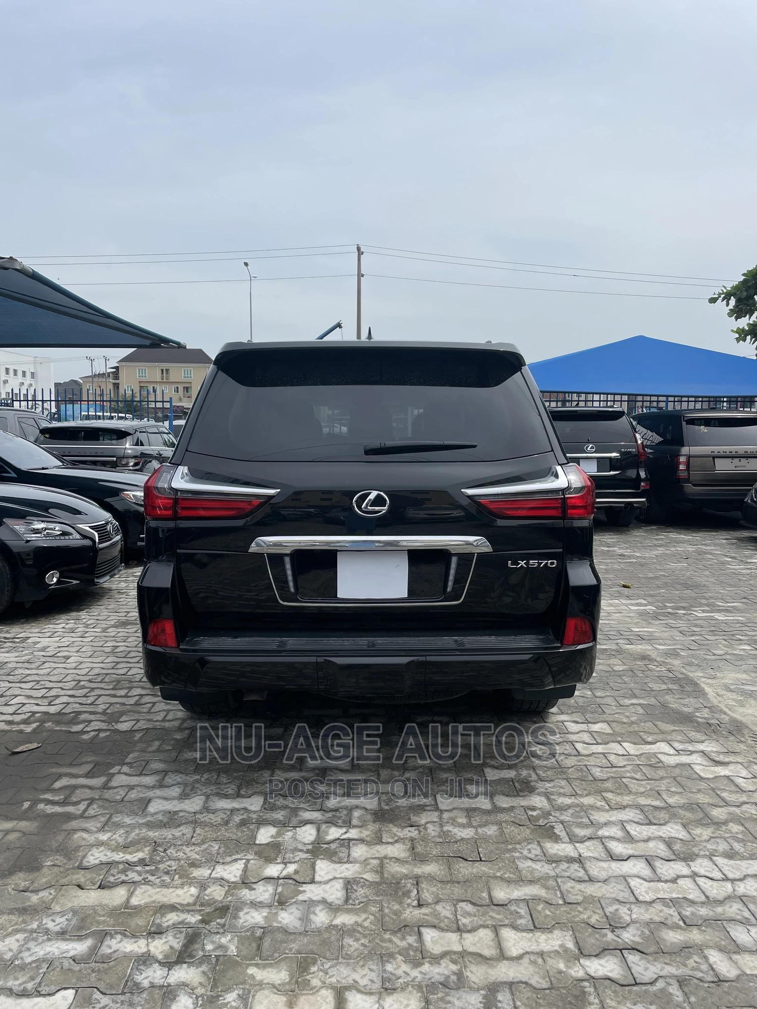 Lexus LX 2019 570 Three-Row Black   Cars for sale in Lekki, Lagos State, Nigeria