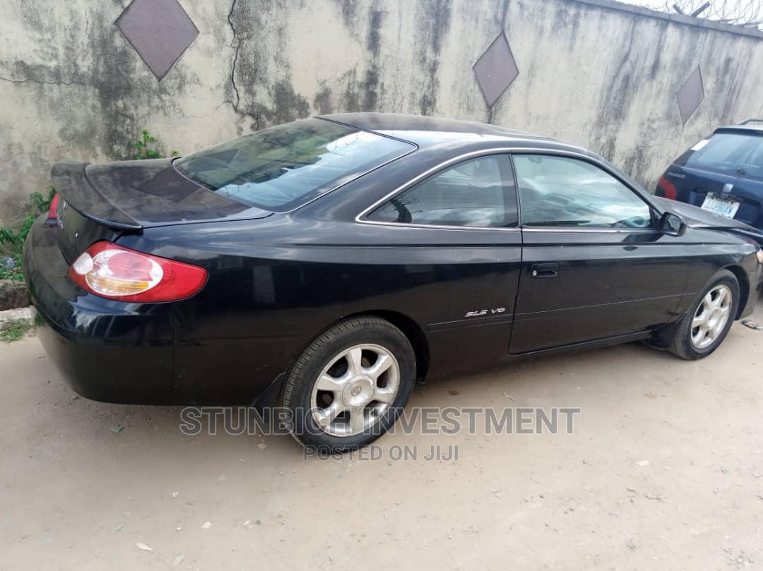Toyota Solara 2002 Black | Cars for sale in Gbagada, Lagos State, Nigeria