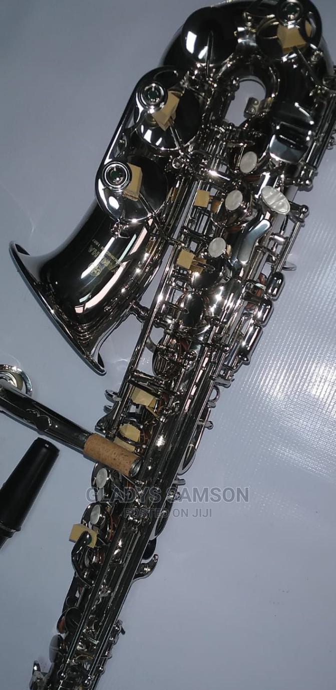Archive: Yamaha Alto Saxophone (Silver)