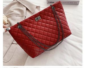 Ladies Handbag Black and Wine Red | Bags for sale in Lagos State, Ikeja