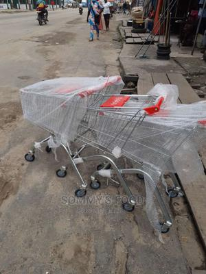 60ltrs Steel Type Supermarket Trolley | Store Equipment for sale in Lagos State, Ojo