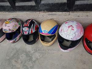 Open Front Professional Motorcycle Helmet | Sports Equipment for sale in Abuja (FCT) State, Lugbe District