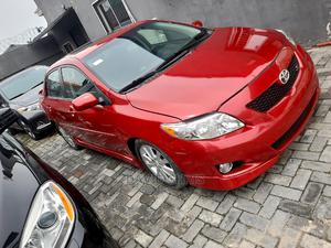 Toyota Corolla 2009 Red | Cars for sale in Lagos State, Ajah