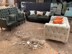 Tufted Sofa and Accent Singles | Furniture for sale in Lagos State, Badagry