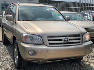 Toyota Highlander 2006 Limited V6 4x4 Gold | Cars for sale in Lagos State, Ikeja