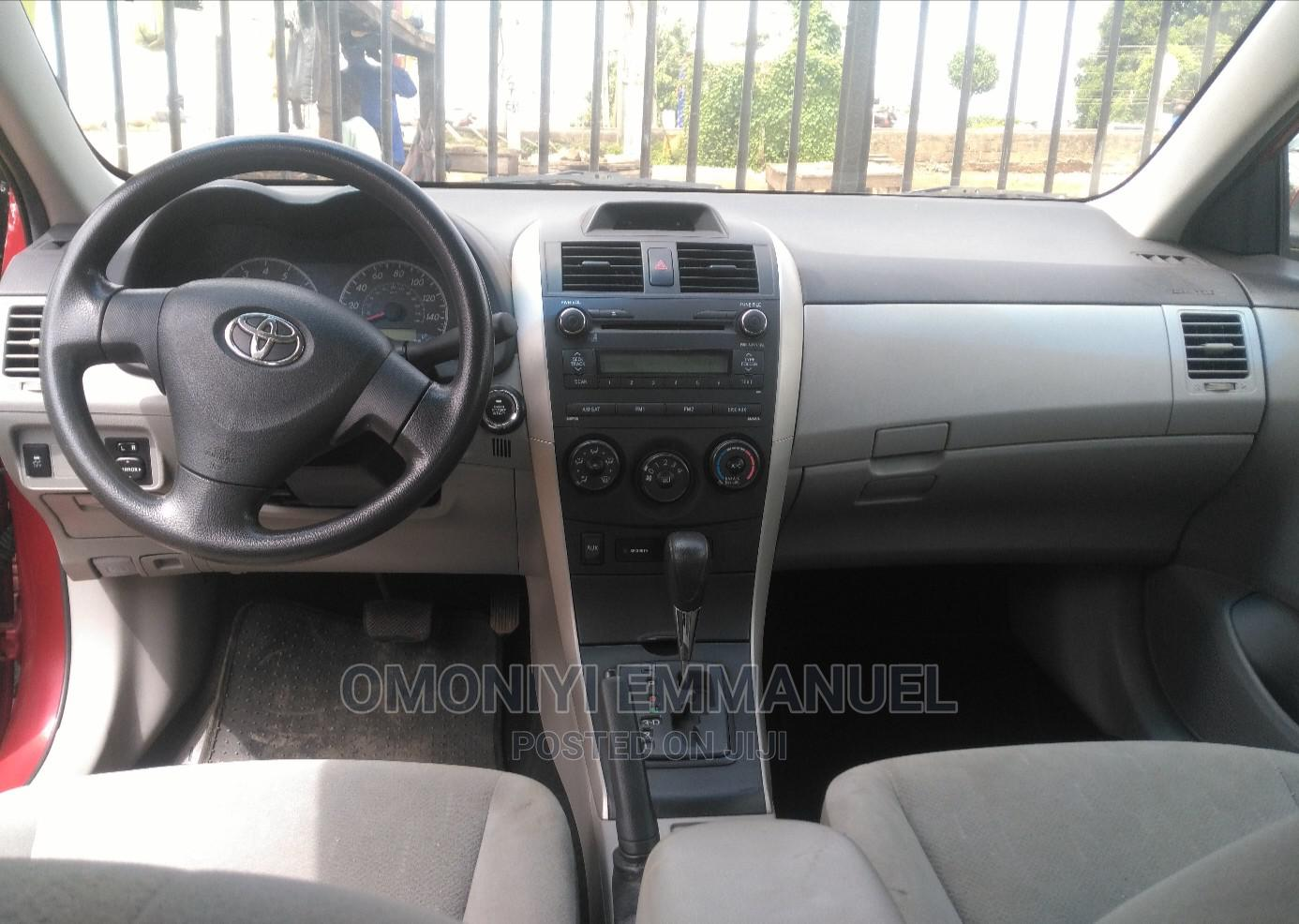 Toyota Corolla 2013 Red   Cars for sale in Akure, Ondo State, Nigeria