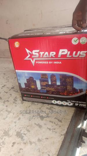 Star PLUS Premium 220ah Tubular Battery 2 Years Warranty   Solar Energy for sale in Lagos State, Agboyi/Ketu