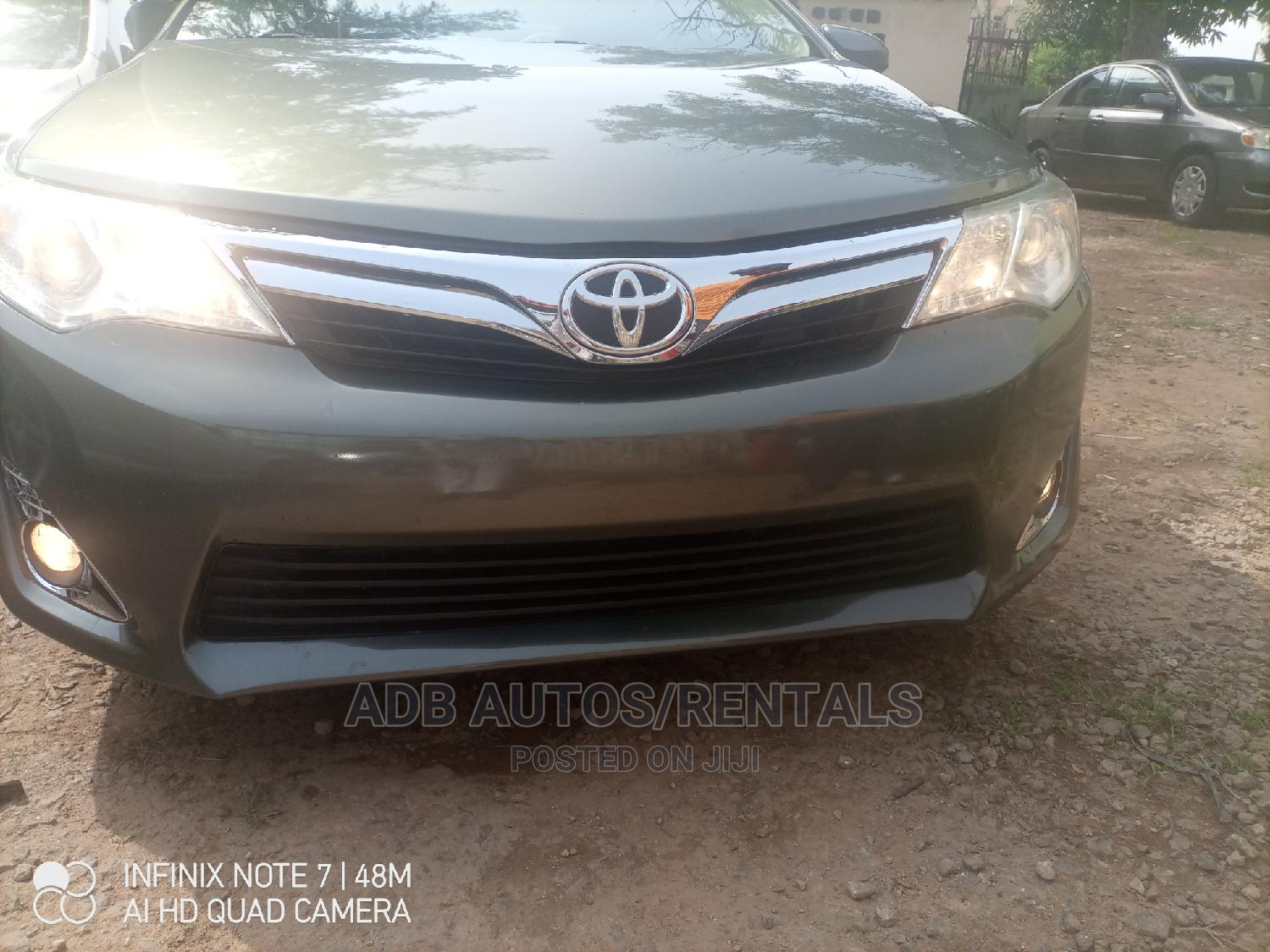 Toyota Camry 2012 Green | Cars for sale in Central Business Dis, Abuja (FCT) State, Nigeria