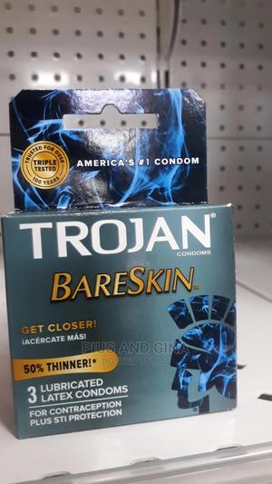 Trojan Sensitive Bare Skin X3 Condoms   Sexual Wellness for sale in Lagos State, Alimosho