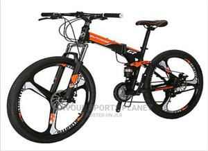 Alloy Rim Folding Mountain Bike Wit 21 Speed Full Suspension | Sports Equipment for sale in Rivers State, Port-Harcourt