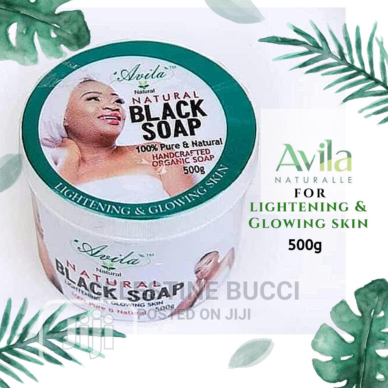 Avila Organic Lightening Herbal/Black Soap