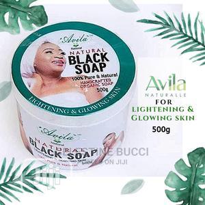 Avila Organic Lightening Herbal/Black Soap | Skin Care for sale in Lagos State, Amuwo-Odofin