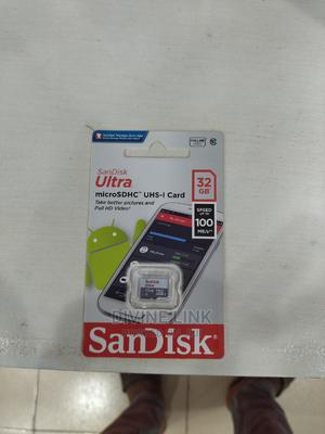 Sandisk Ultra 32gb Class 10 Micro Sd | Accessories for Mobile Phones & Tablets for sale in Lagos State, Ikeja