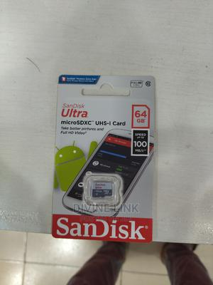 Sandisk Ultra 64gb Class Micro Sd   Accessories for Mobile Phones & Tablets for sale in Lagos State, Ikeja