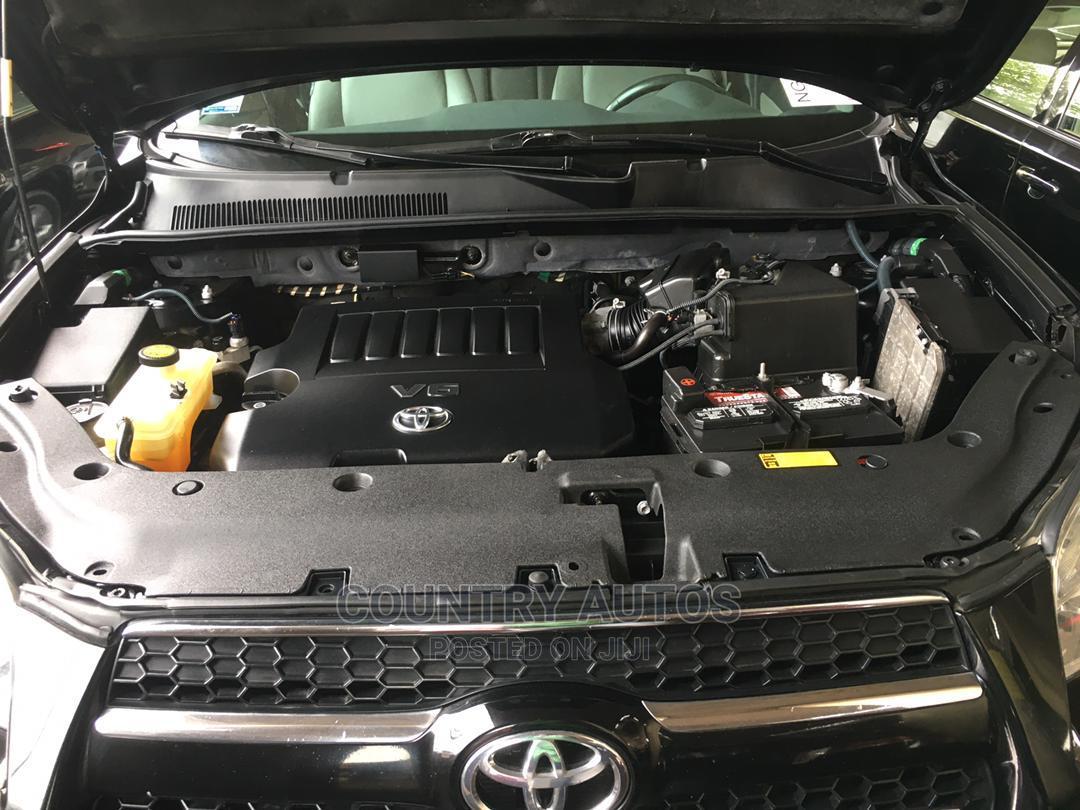 Toyota RAV4 2010 3.5 Sport 4x4 Black | Cars for sale in Apapa, Lagos State, Nigeria