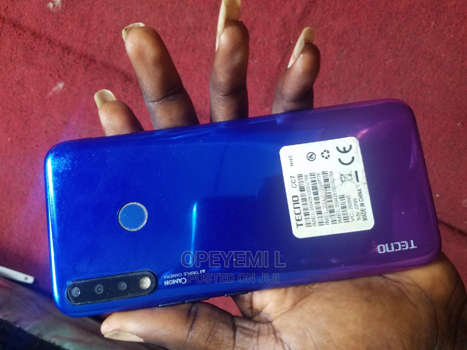 Archive: Tecno Camon 12 64 GB Blue