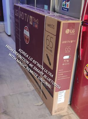 "Original LG 65""UHD Smart Satellite 4k TV (65UN74) Netflix   TV & DVD Equipment for sale in Lagos State, Apapa"