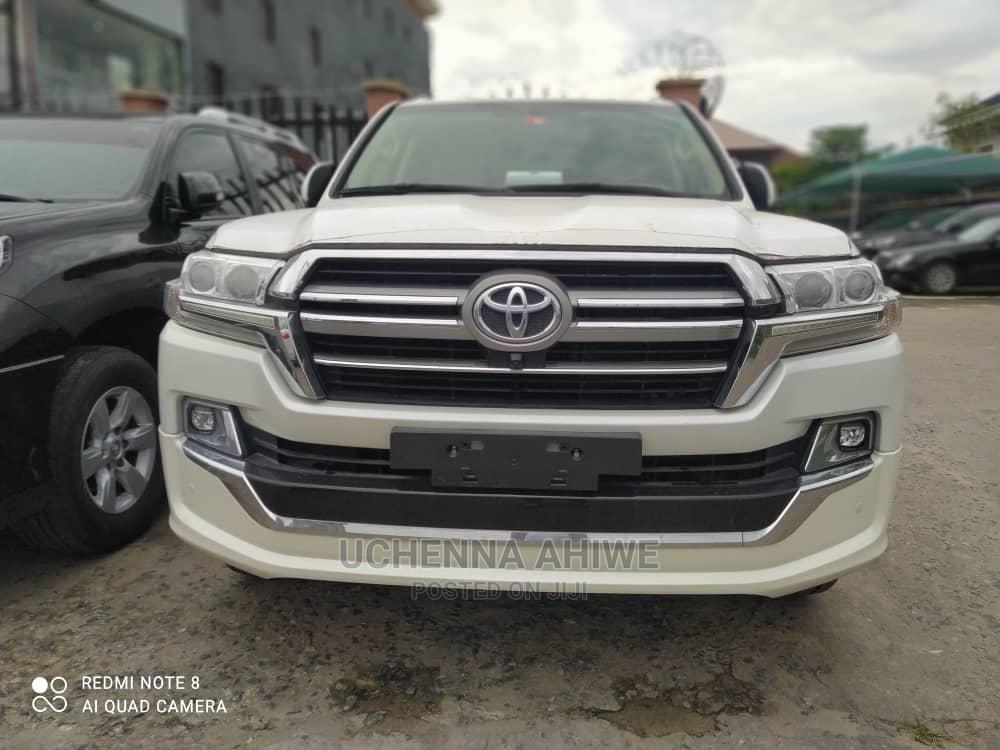 New Toyota Land Cruiser 2020 4.0 V6 GXR White