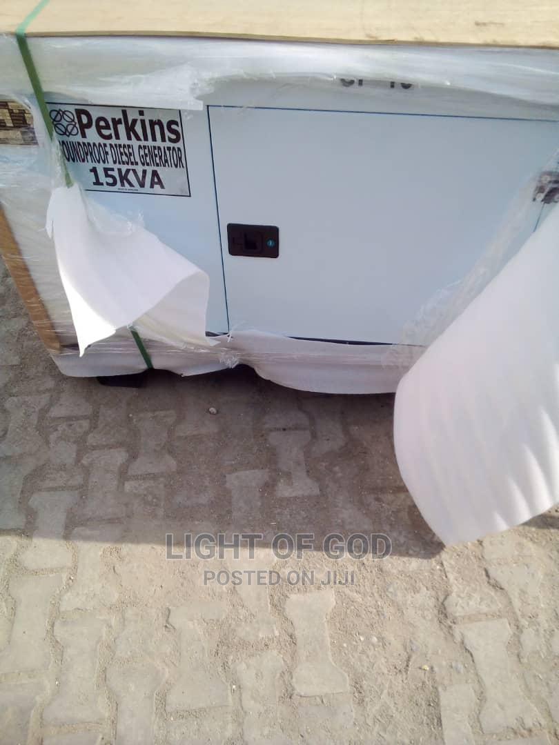 15kva Perkins Soundproof Generator