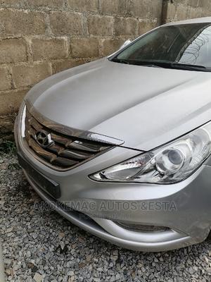 Hyundai Sonata 2012 Silver | Cars for sale in Lagos State, Ikeja
