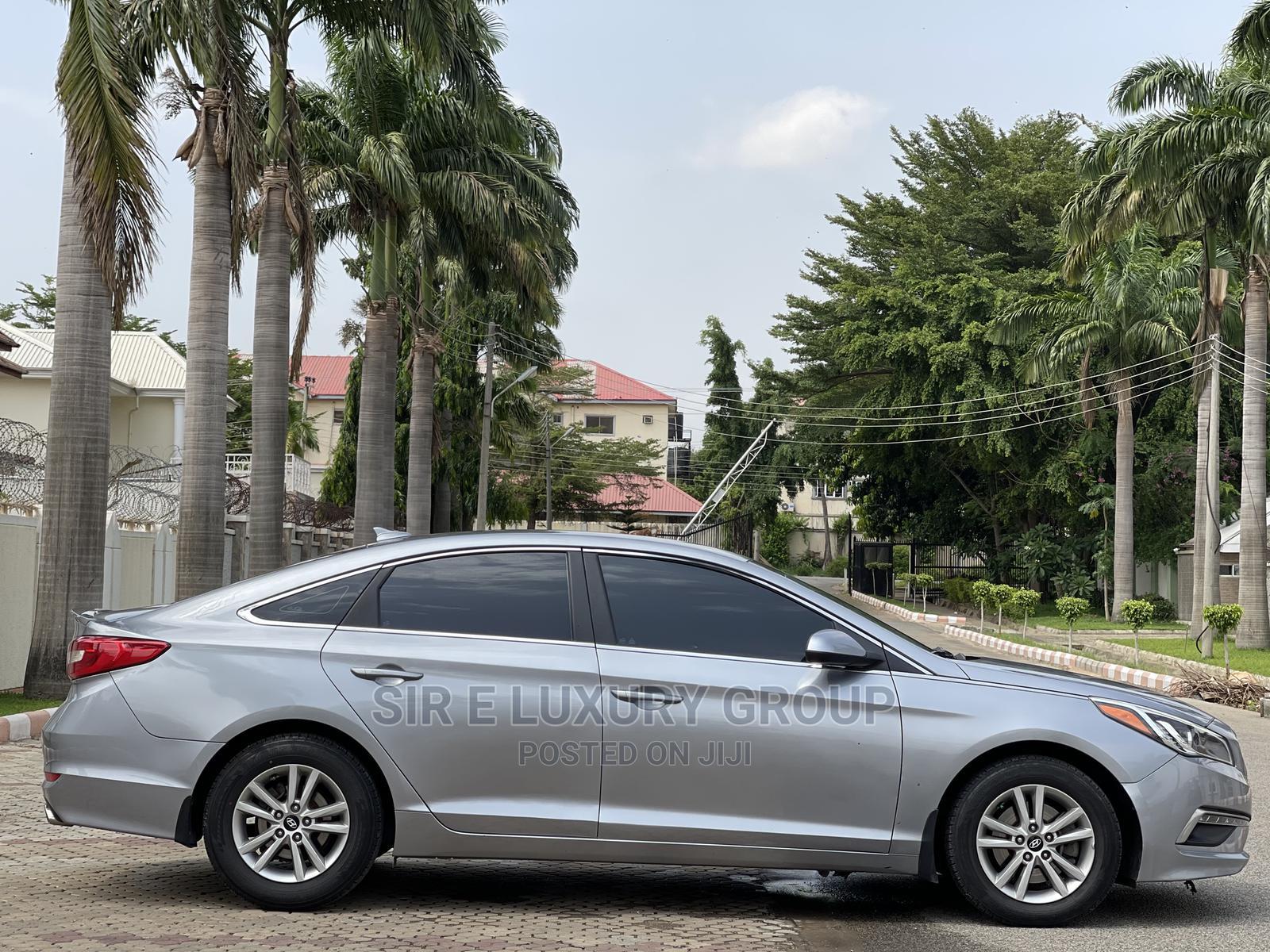Hyundai Sonata 2015 Silver | Cars for sale in Utako, Abuja (FCT) State, Nigeria